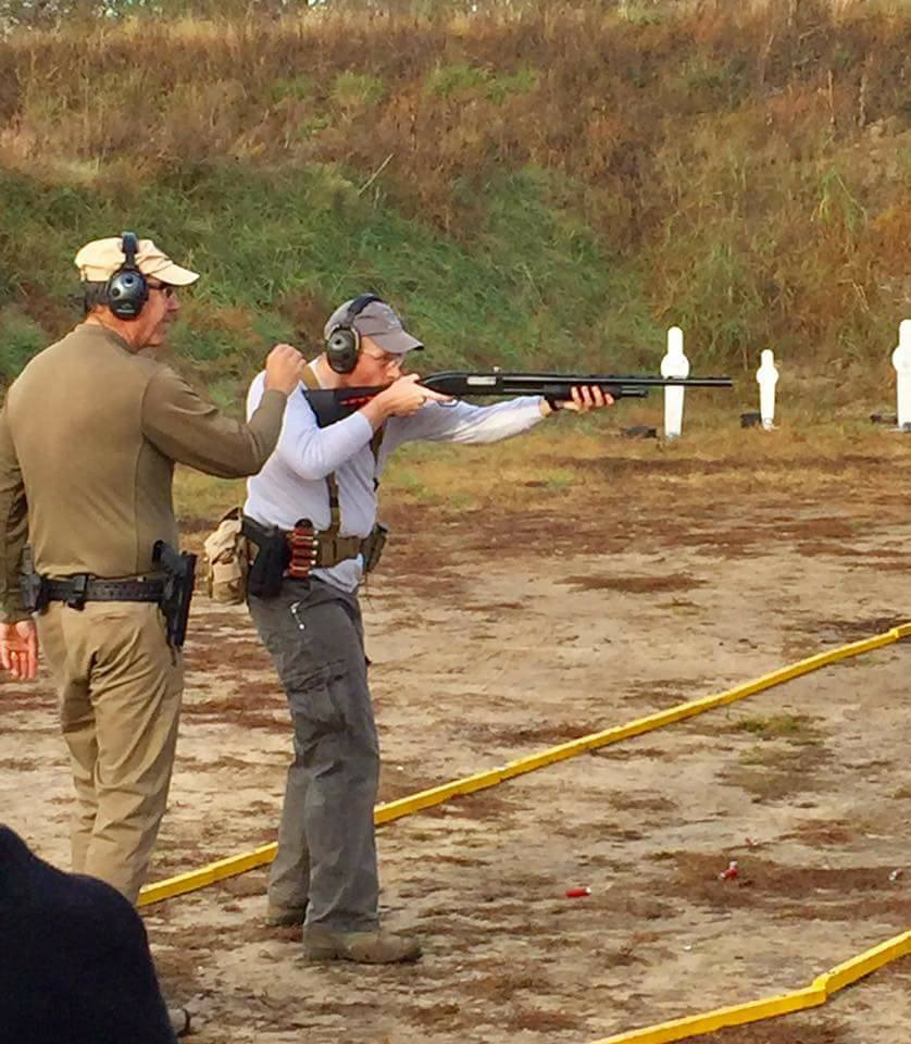 Mossberg Maverick 88 at USPSA 3 Gun