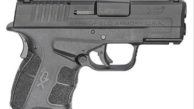 Springfield Armory Announced the new XD-S Mod.2 .45 ACP