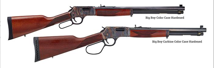 Henry Announces Six New Big Boy Color Case Hardened Rifles
