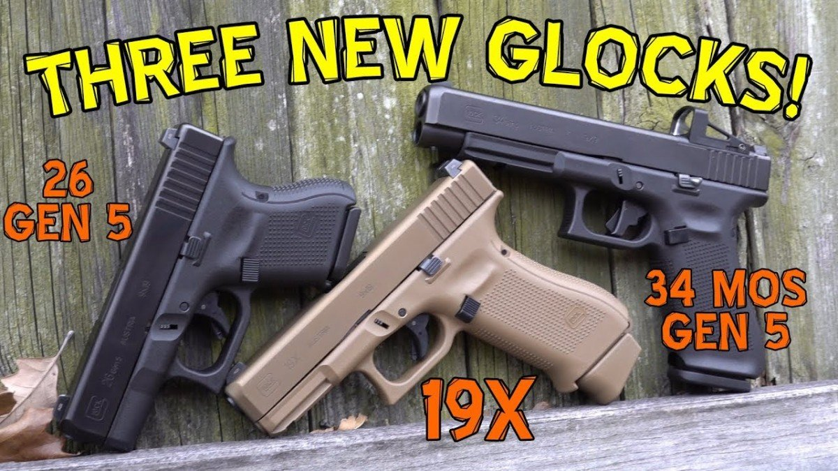 Three New Glocks
