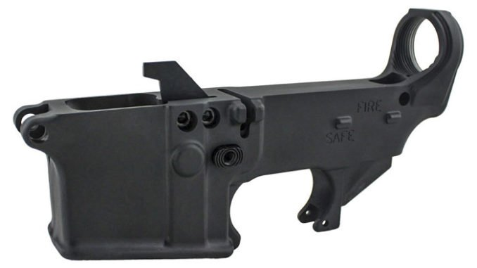 80% Lower AR9 80% pistol caliber carbine lower