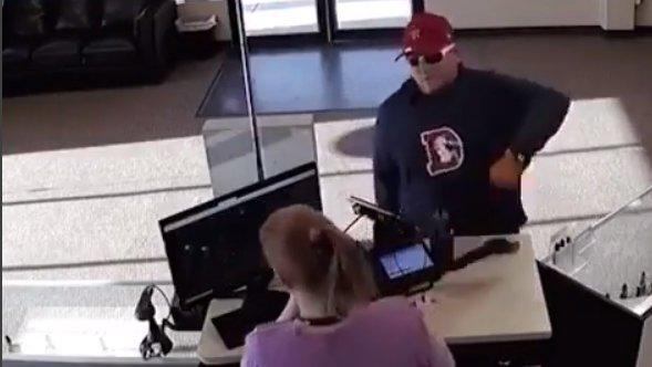 Botched Robbery Monday Gun Moron