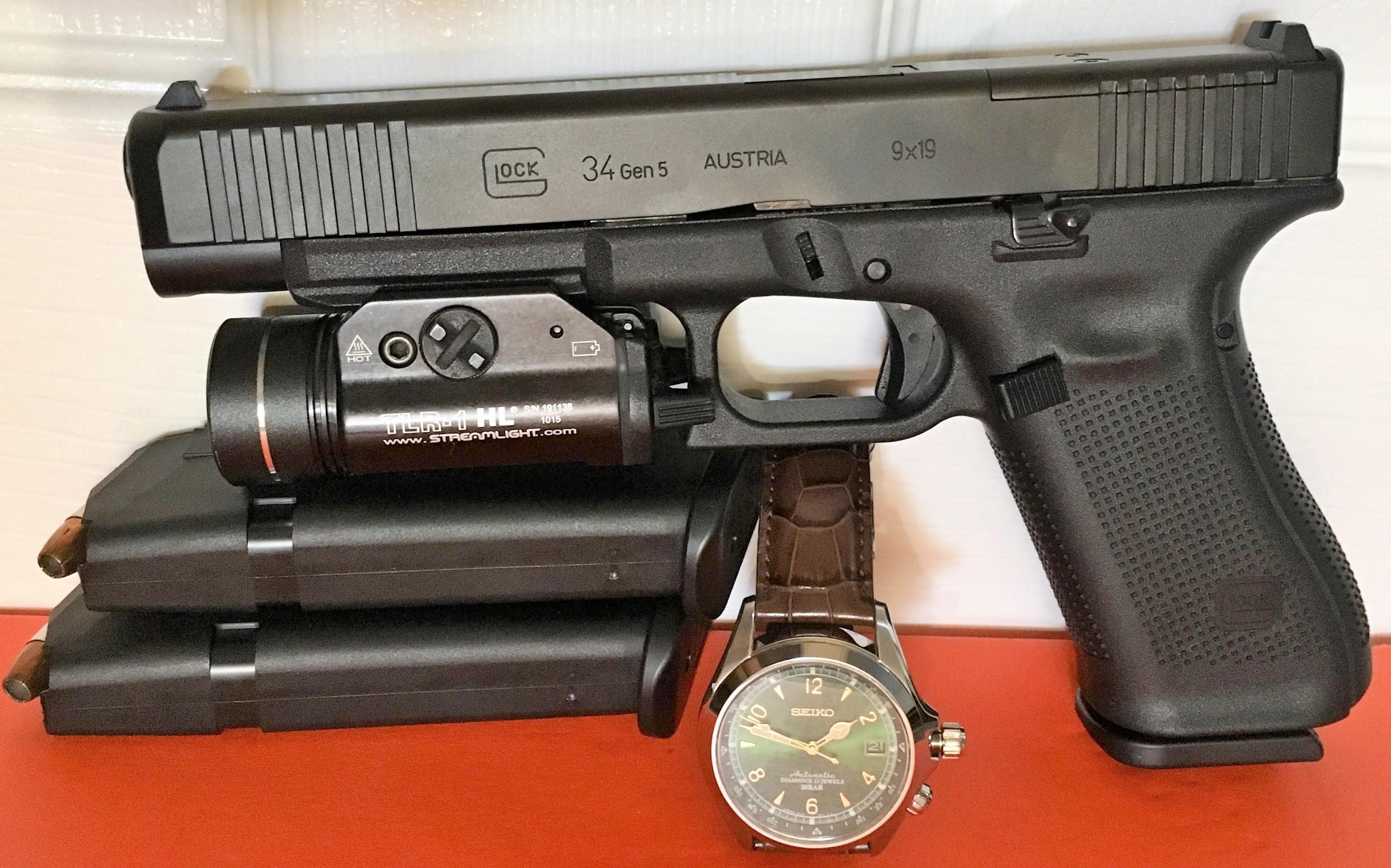 Gen5 Glock 34 Forward Serrations