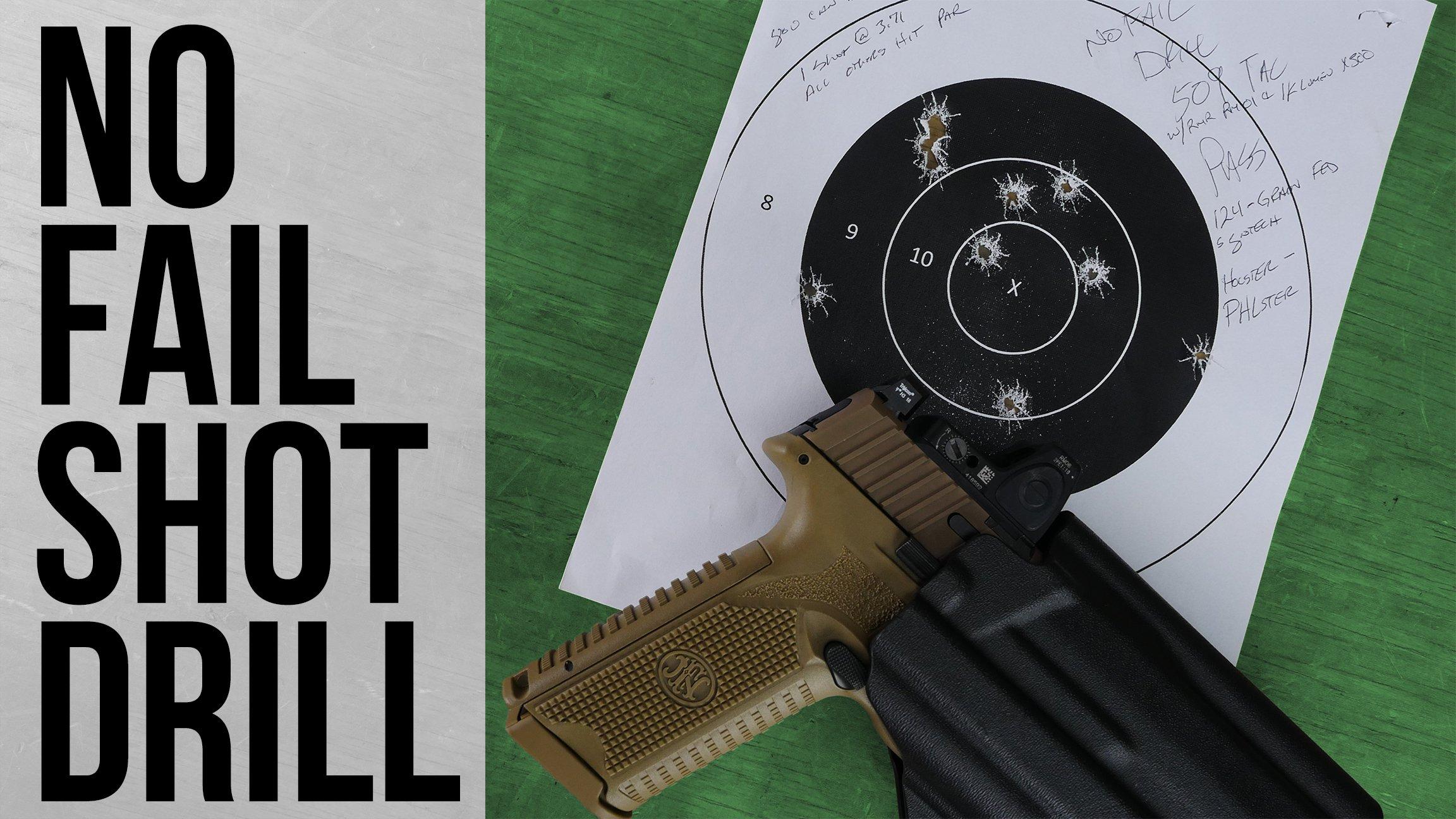 No Fail Shot Drill Cover