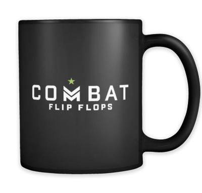 Image of Combat Flip Flops mug.