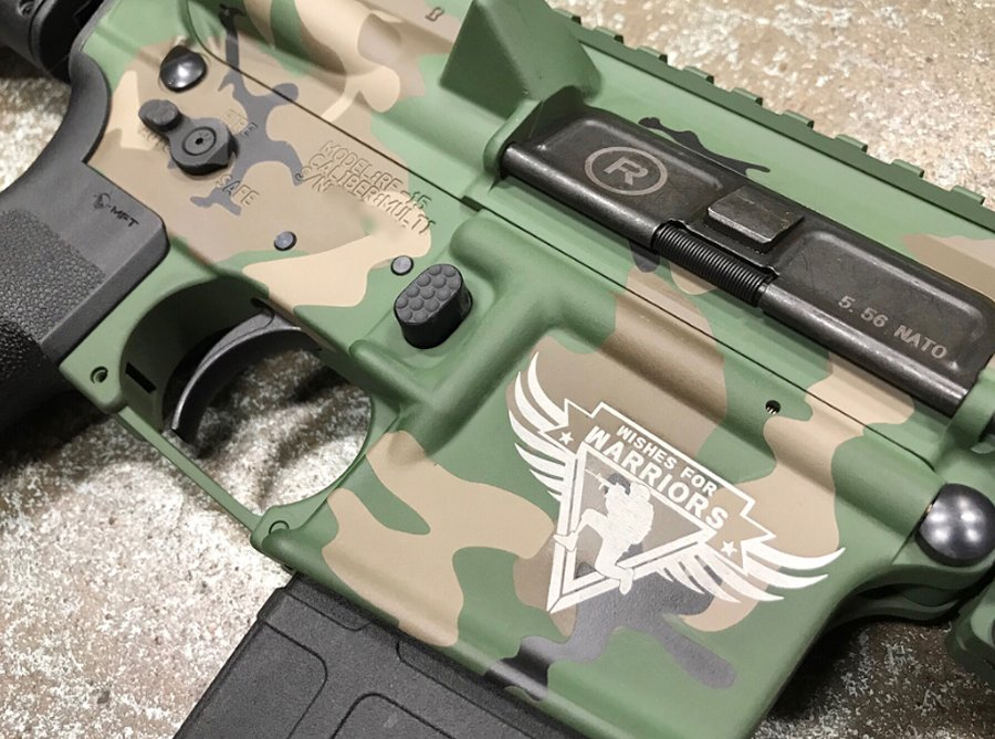 Radical Firearms RF15 for Wishes for Warriors