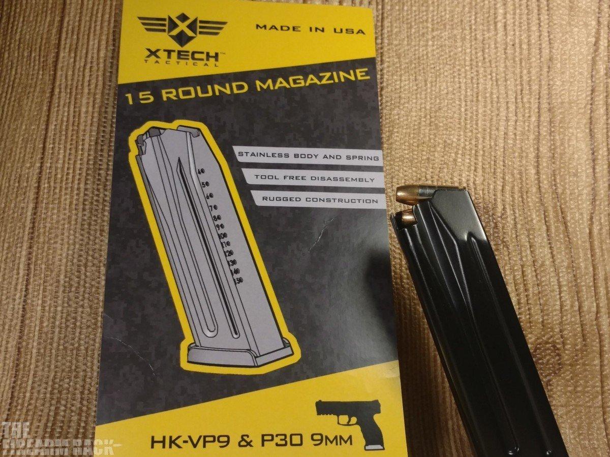 XTech VP9 & P30 Magazine Title