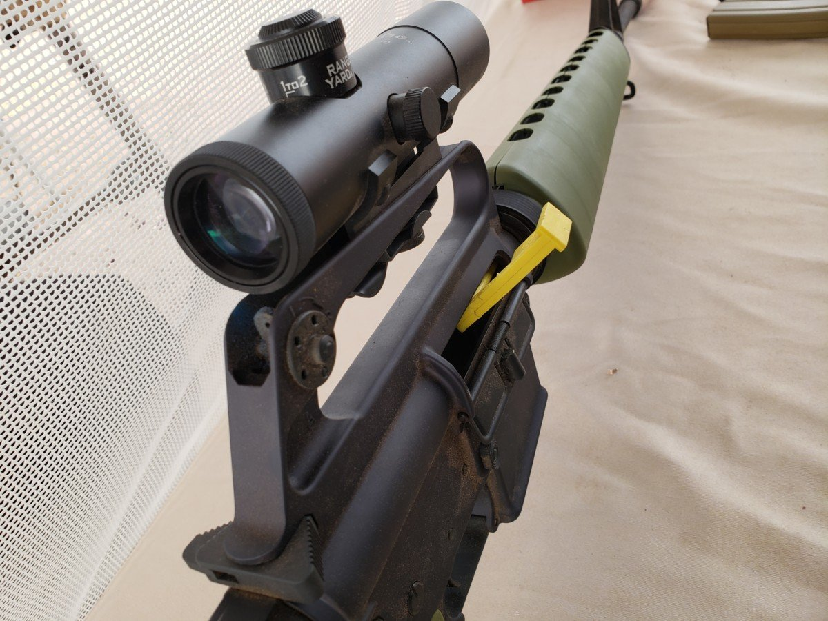 Brownells 4x Carry Handle Optic