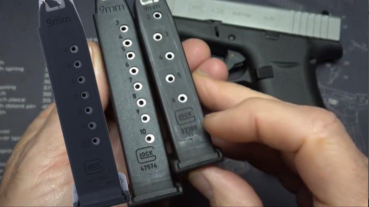 Glock 48 Magazine vs Glock 19 10 round
