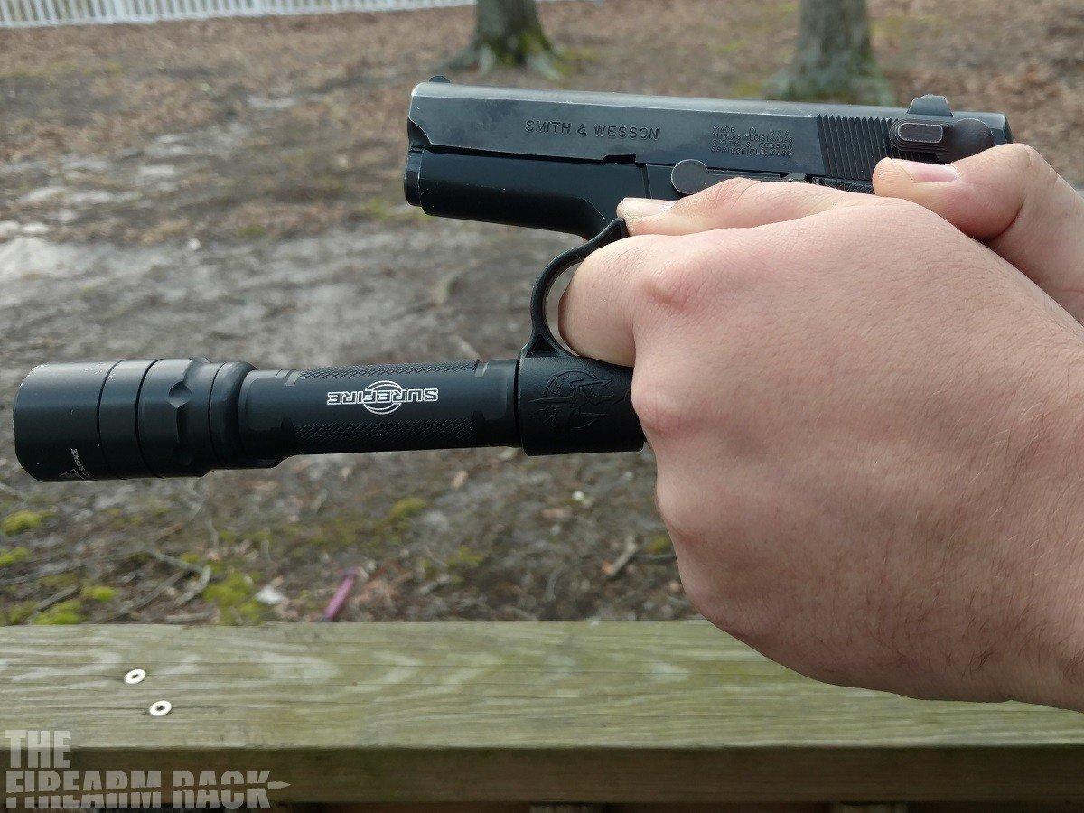 Switchback Firing Grip