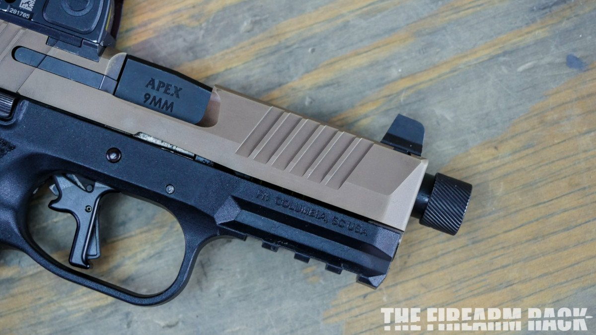 Apex FN 509 Threaded Barrel Review-155