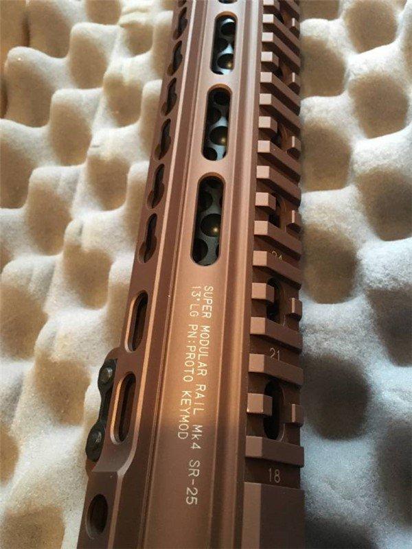 Prototype Geissele KeyMod Rail - 2