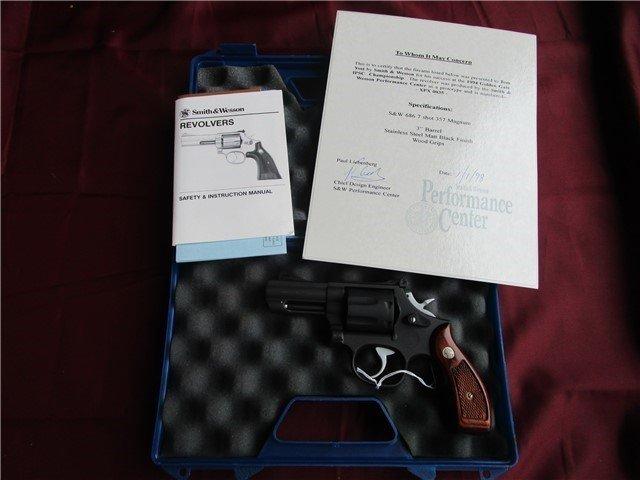 Smith & Wesson 686 Prototype - 3