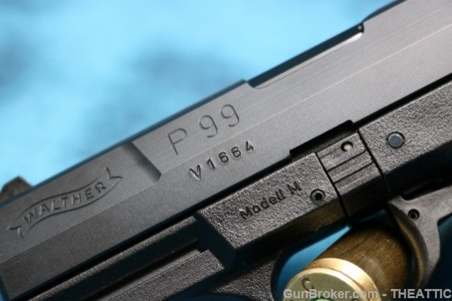 WALTHER P99 Prototype - 3