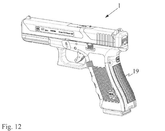 Glock 17T Patent Drawing