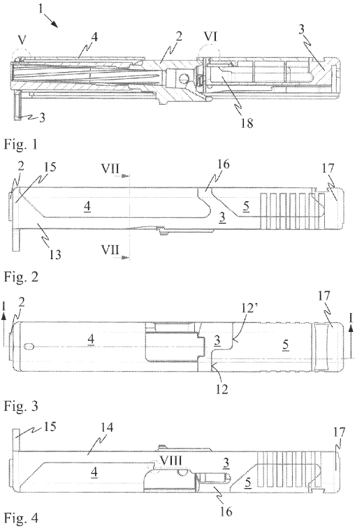 Glock slide patent 2