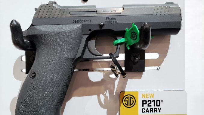 SIG Sauer P210 Carry