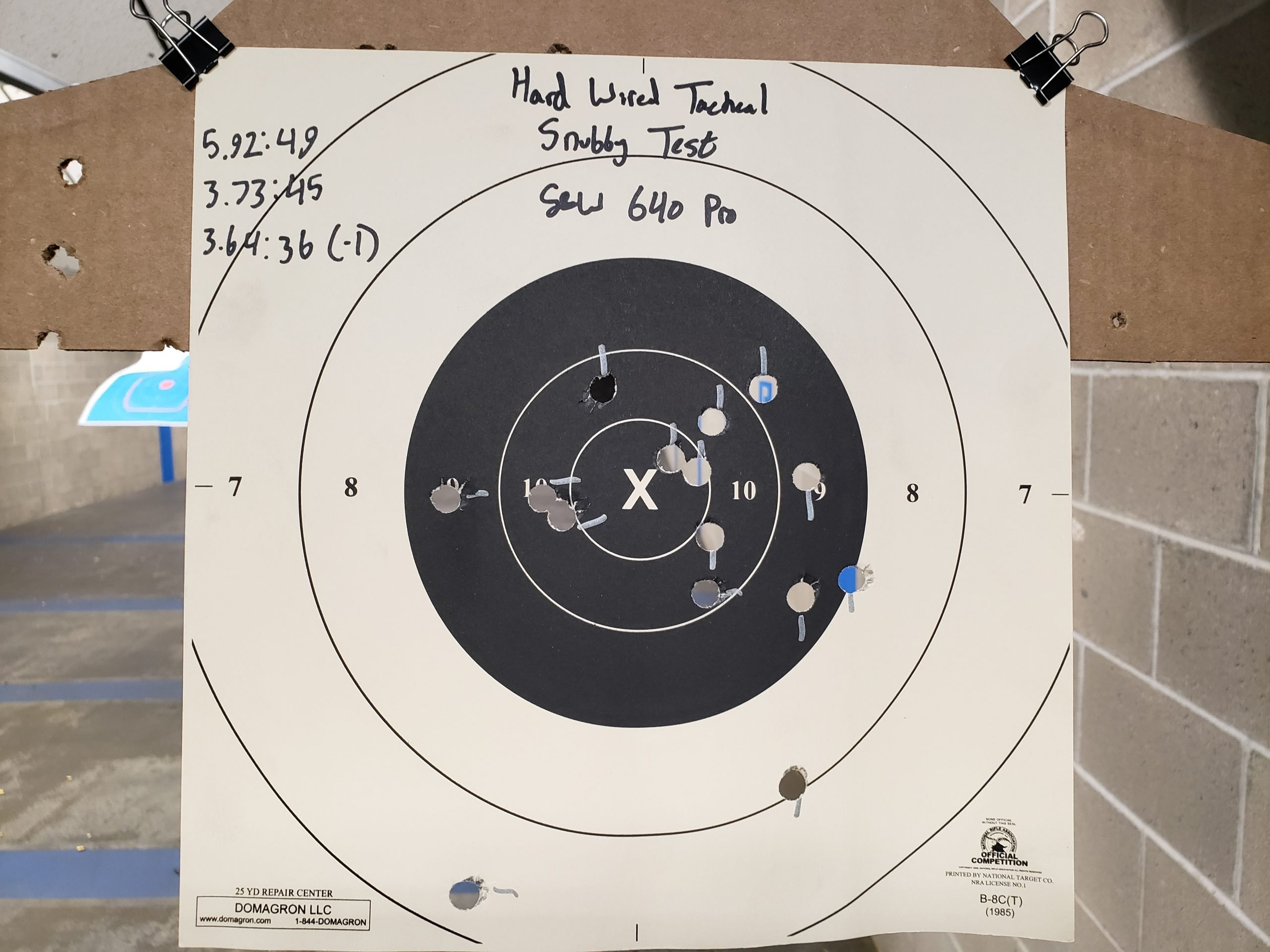 Hardwired Tactical Super Snubby Test