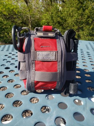 The front of the Vanquest FATpack