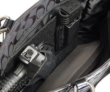 Gun Holster Purse Insert
