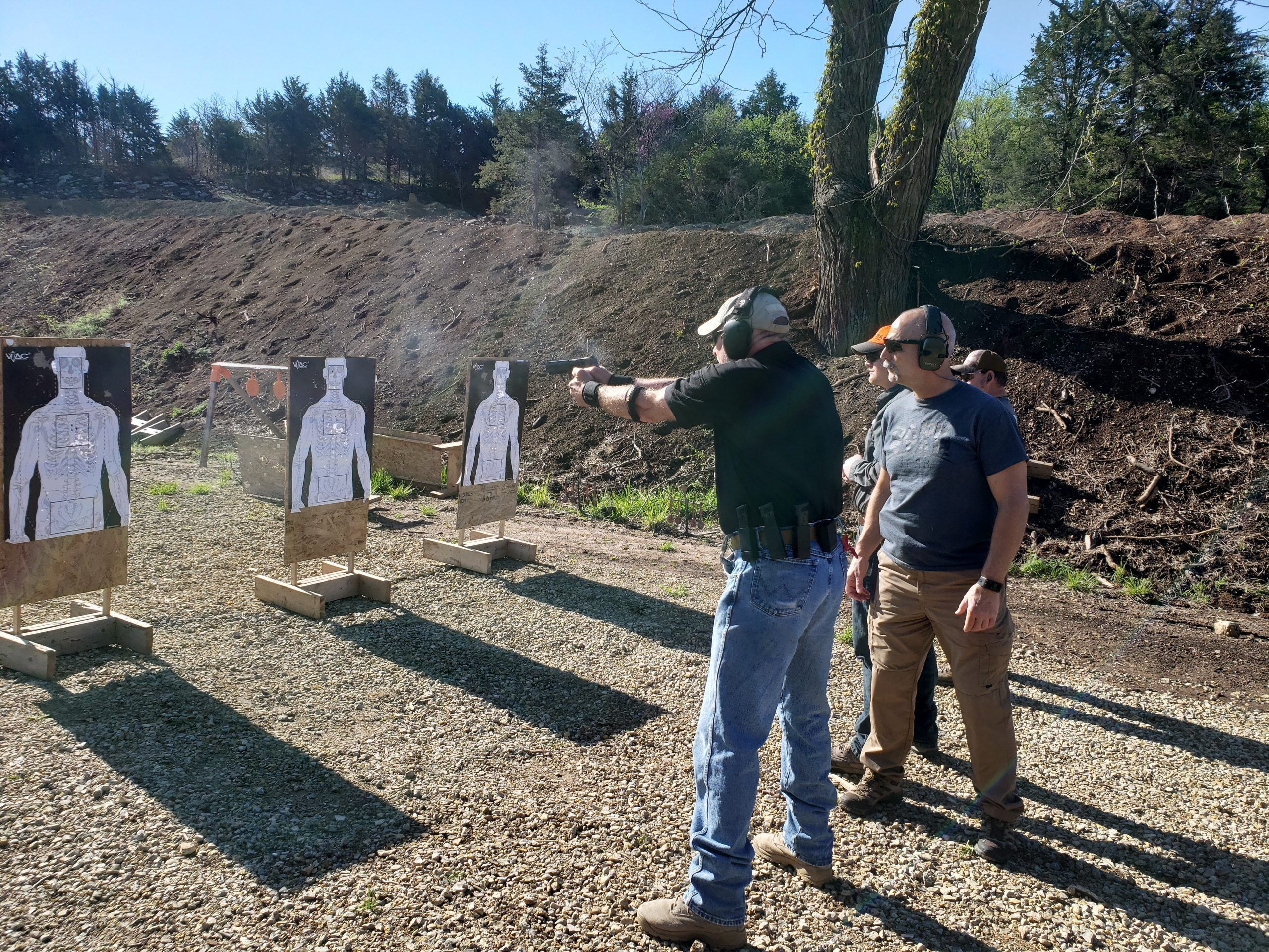Chuck Haggard Agile Training & Consulting Close Quarter Handgun