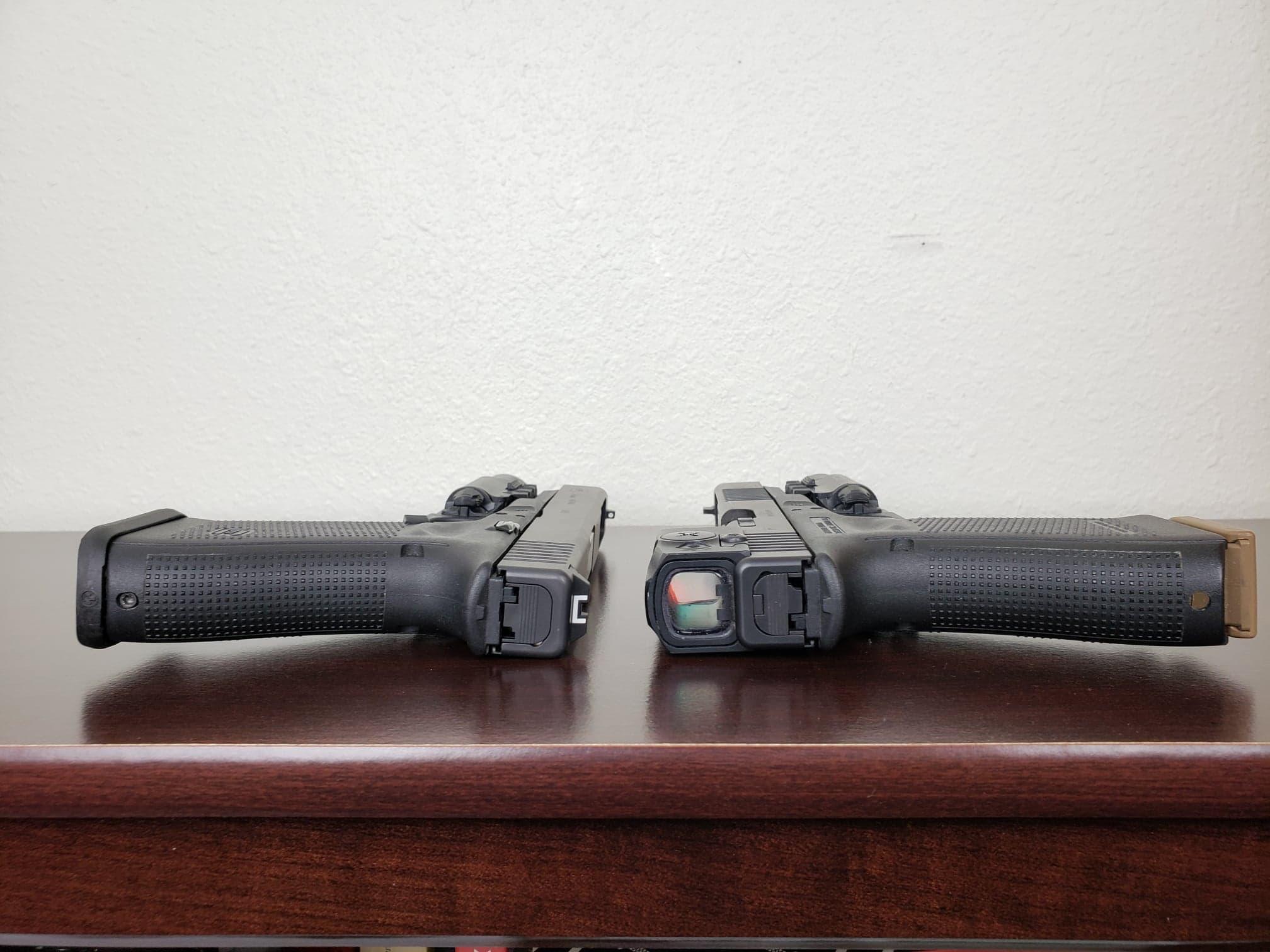 Irons vs Red Dots on Handguns
