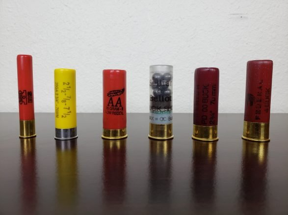 Shotgun ammunition types