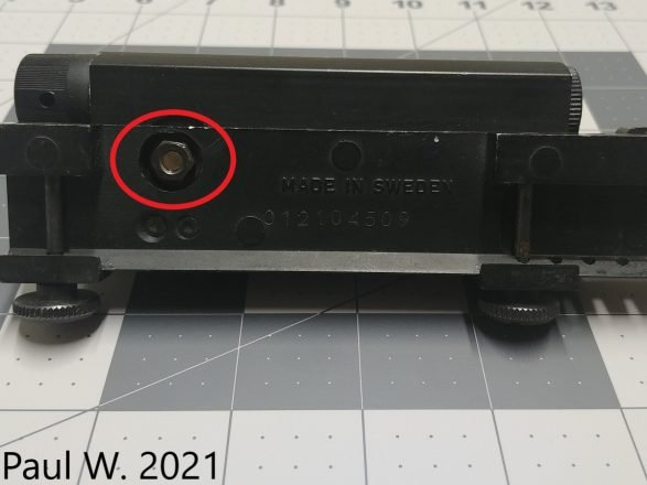 Aimpoint Electronic G2 Underside
