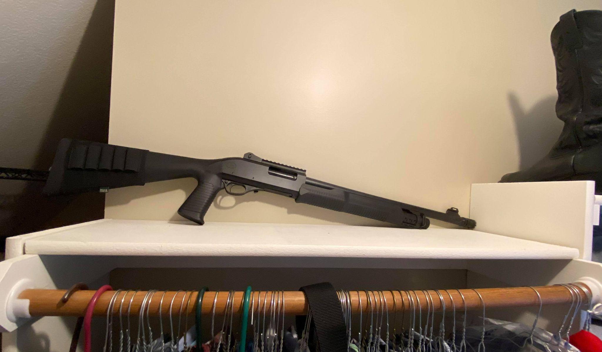 Safe Shotgun Storage