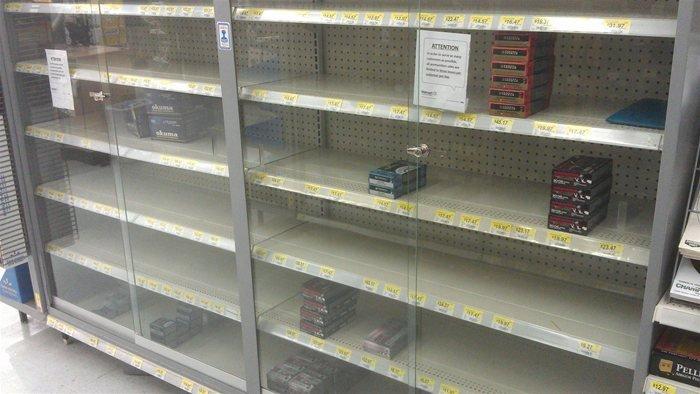 Ammunition Shortage