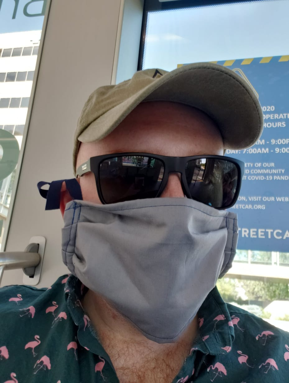 Masks conceal carry