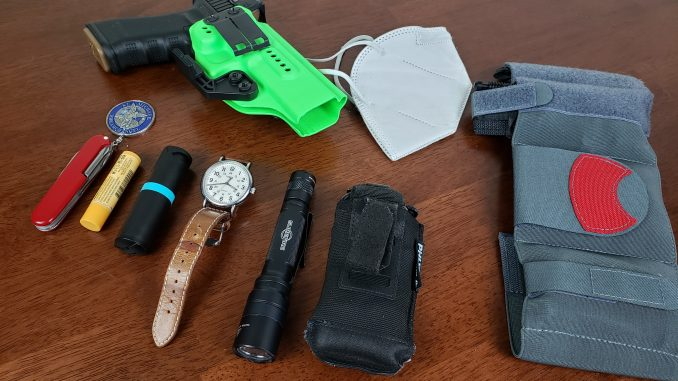 Masks conceal carry