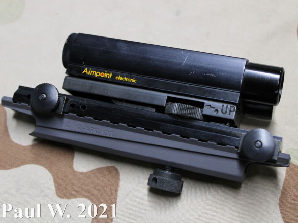Aimpoint Electronic G1 Side Profile