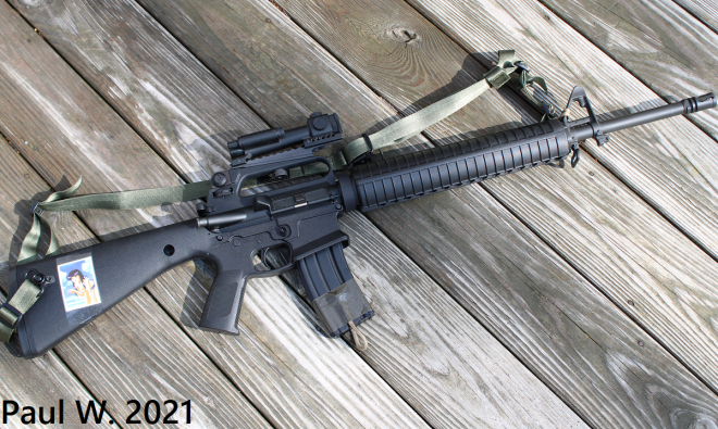 KP15 Complete Rifle
