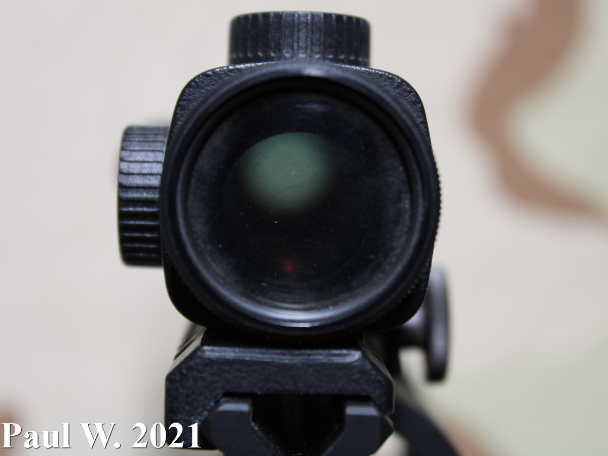 Aimpoint 1000 Shootee's View