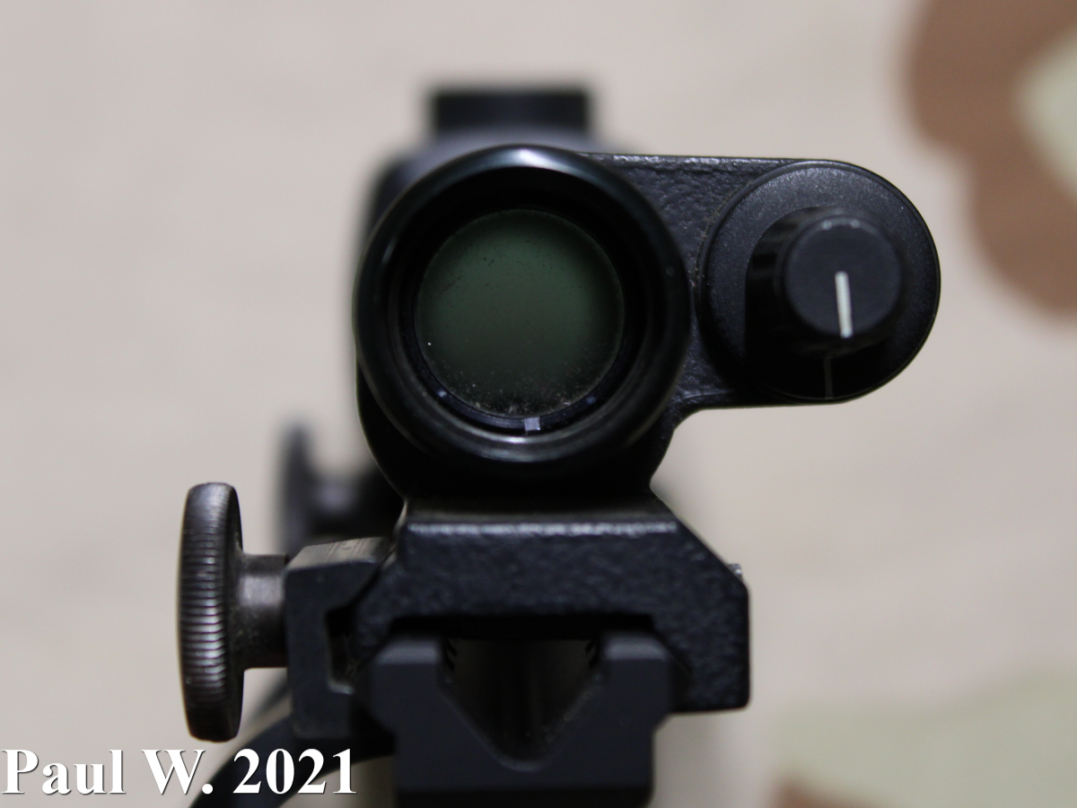 Aimpoint 1000 Shooter's View