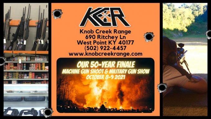 Knob Creek Machine Gun Shoot Finale