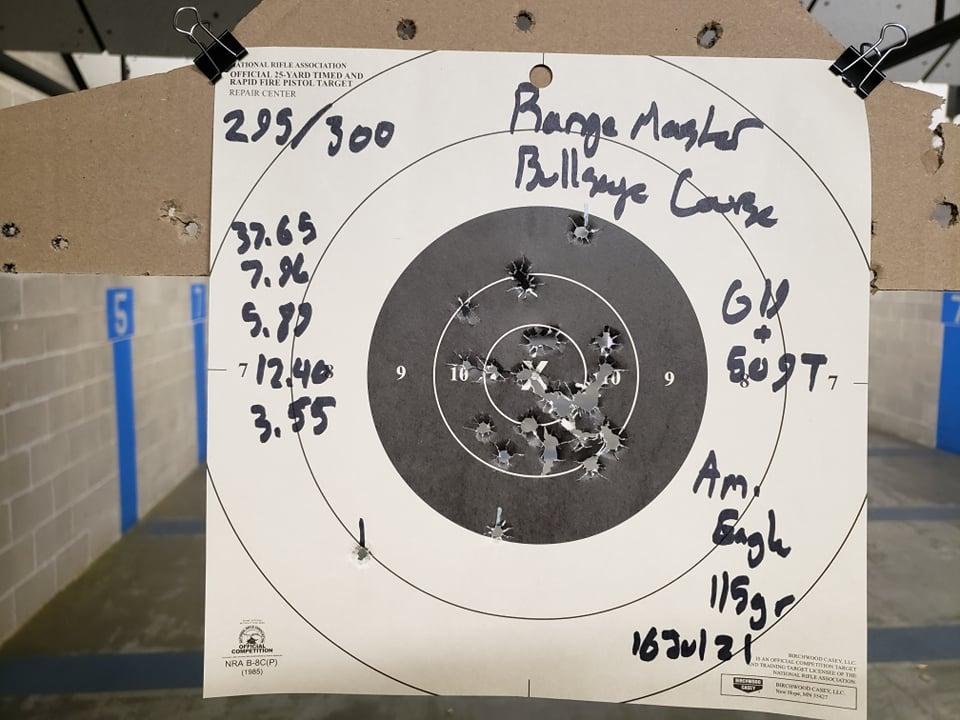 Rangemaster Bullseye Course