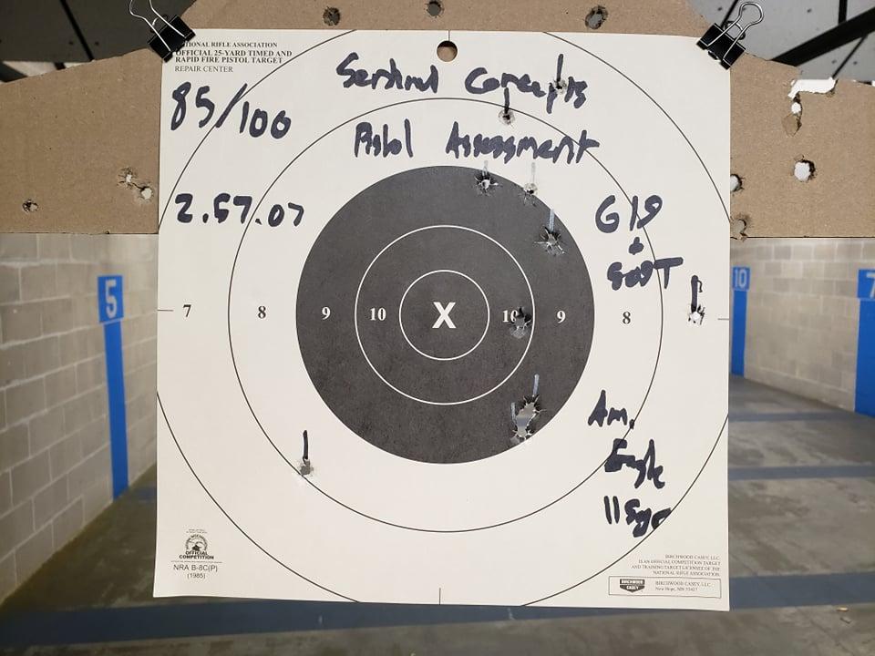 Sentinel Concepts Pistol Assessment