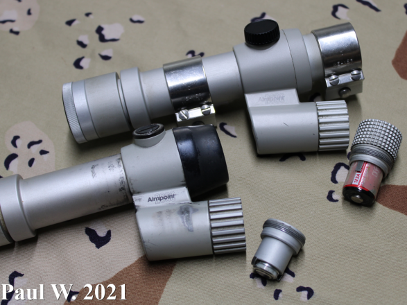Aimpoint 2000 Battery Compartments