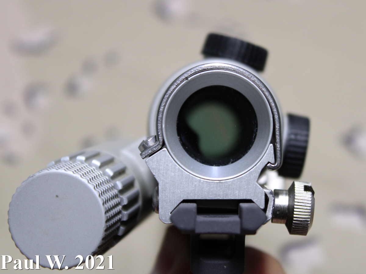 Aimpoint 2000 Shooter's View