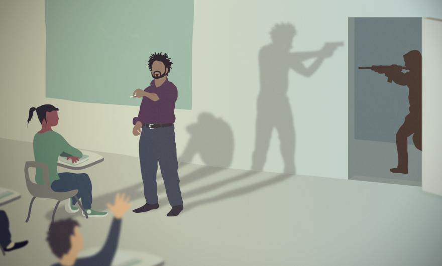 armed teacher