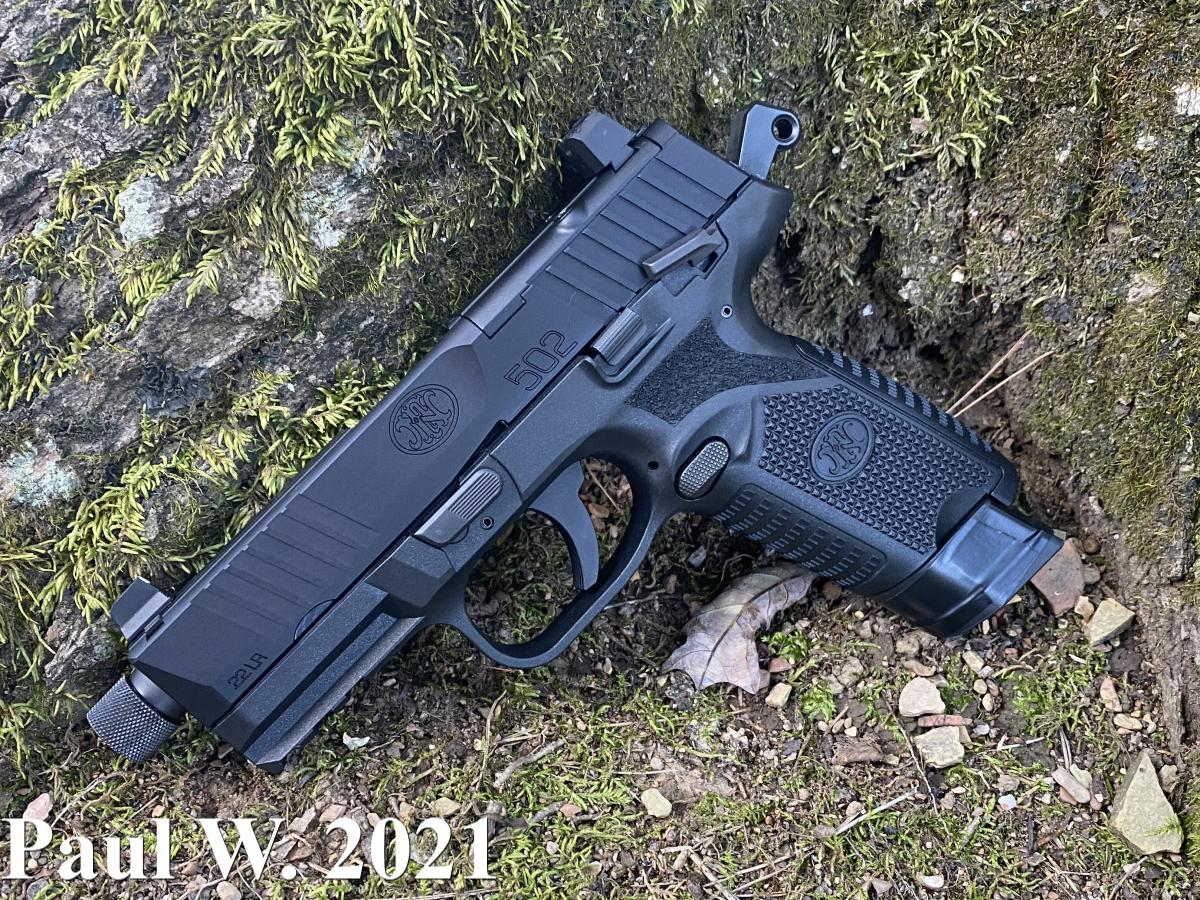 FN 502 Side Profile Image