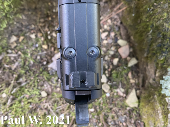 FN 502 Sights and Optic Plate Image